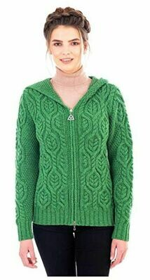 Ladies Cardigan - Green