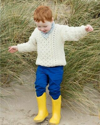 Kids Aran Sweater