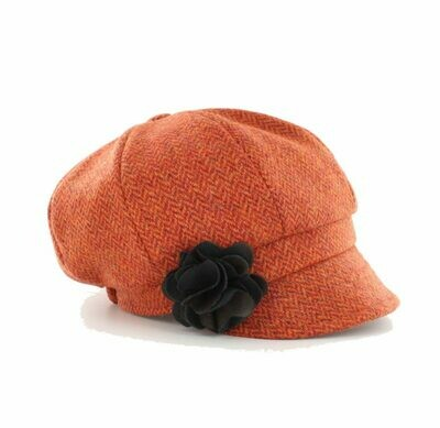 Newsboy Cap Orange