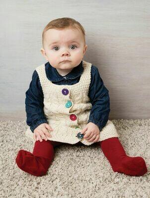 Baby's Aran Dress
