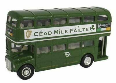 Diecast Irish Double Deck Bus