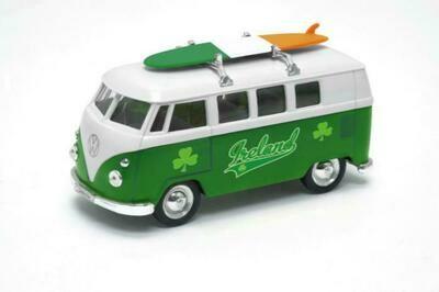 Irish Camper Van With Tricolour Surfboard