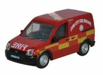 Cork City Fire Brigade Transit - Die Cast -1/76 scale