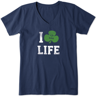 Life is Good Women's Tee Shirt - I