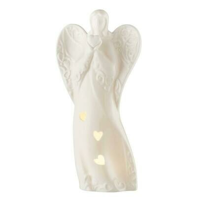 Belleek Angel Luminaire