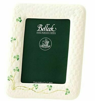 Belleek Shamrock Frame - 5x7