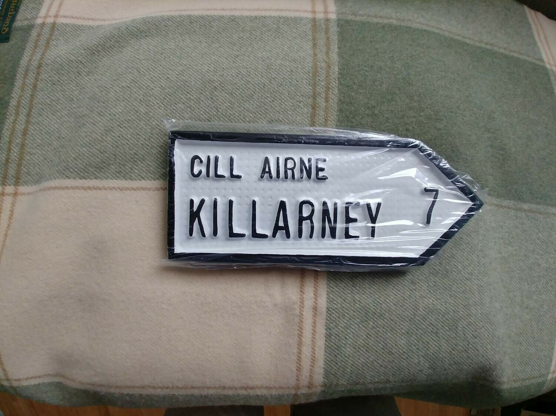 Irish Road Sign - Killarney