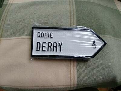 Irish Road Sign - Derry