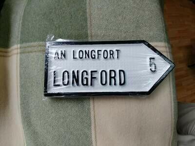 Irish Road Sign - Longford