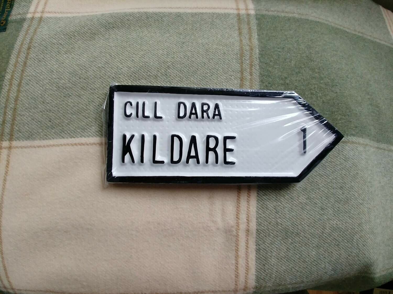 Irish Road Sign - Kildare