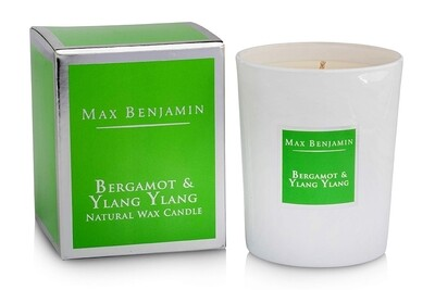 Max Benjamin Bergamot & Ylang Ylang Luxury Natural Candle