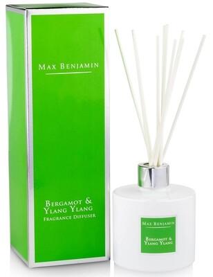 Max Benjamin Bergamot & Ylang Ylang Luxury Diffuser
