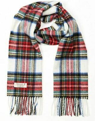 Lambswool Scarf - Dress Stewart Tartan
