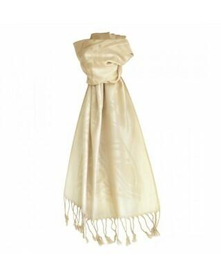 Luxury Wool Scarf - White