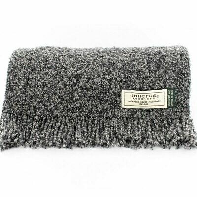 Skellig Scarf - Charcoal Grey