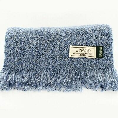 Skellig Scarf - Pale Blue