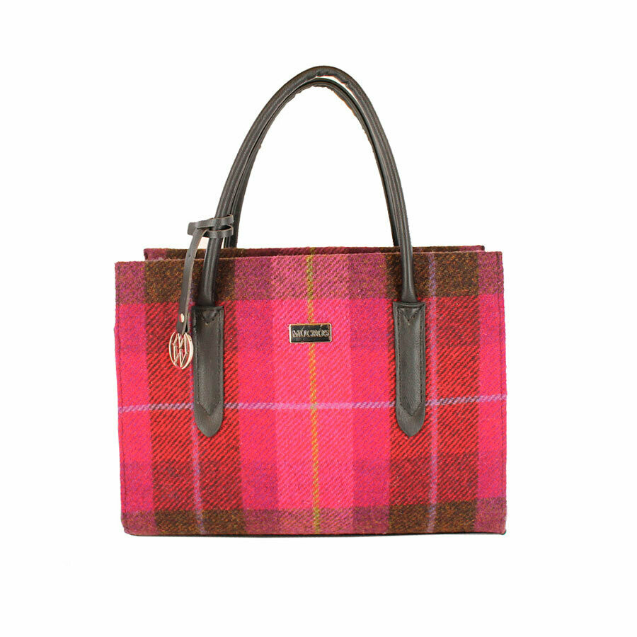 Aoife Bag - Pink Plaid