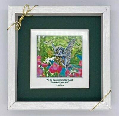 Garden Fairy Tile Art