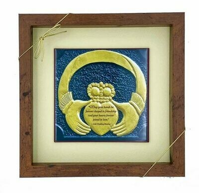 Wedding Claddagh Tile Art