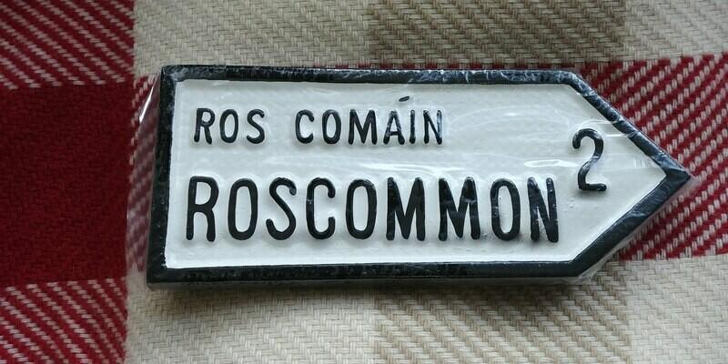Irish Road Sign - Roscommon