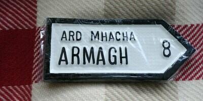 Irish Road Sign - Armagh