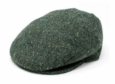 Vintage Cap - Dark Green Fleck Salt and Pepper