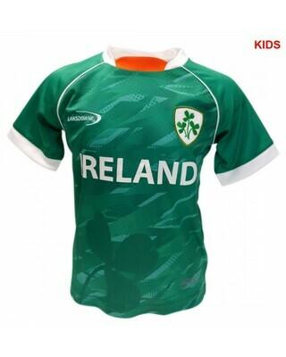 Lansdowne Kids Emerald Green Performance T-Shirt
