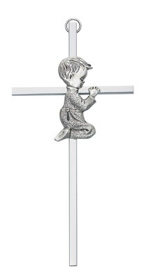 Silver Boy Cross