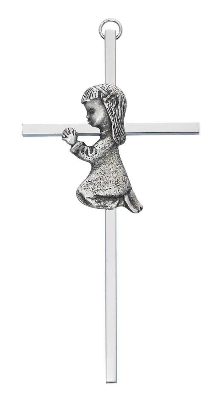 Silver Girl Cross
