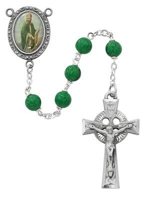 Green St Patrick Rosary