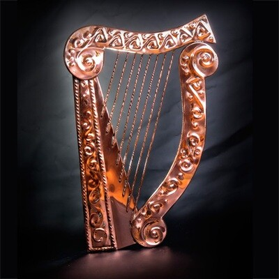 Handmade Copper Harp