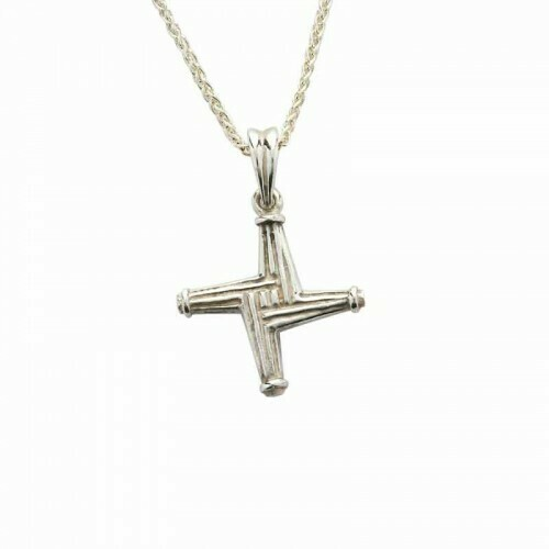 Sterling Silver St Brigid's Cross - Small