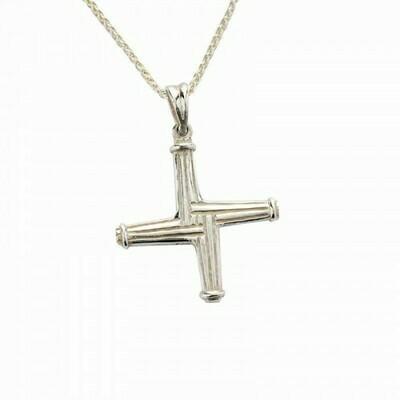 Sterling Silver St Brigid's Cross - Large