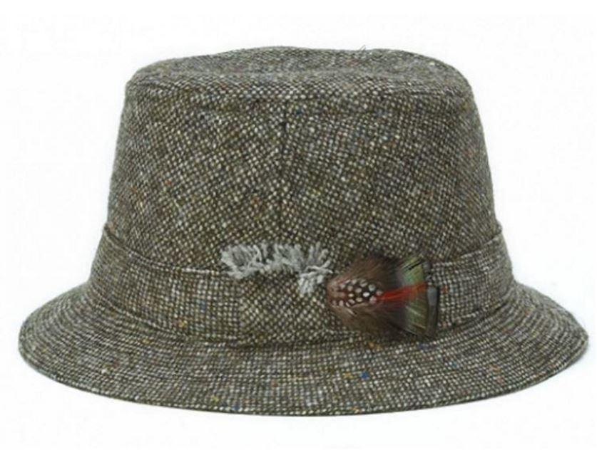 Hanna Hats Walking Hat - Moss Green S&P