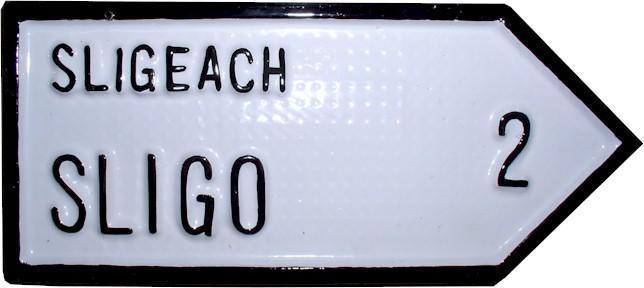 Irish Road Sign - Sligo