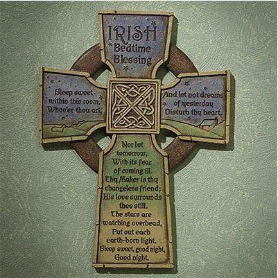 Irish Bedtime Cross
