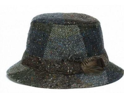 Hanna Hats Walking Hat - Green Heather