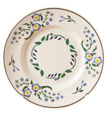 Side Plate Forget Me Not