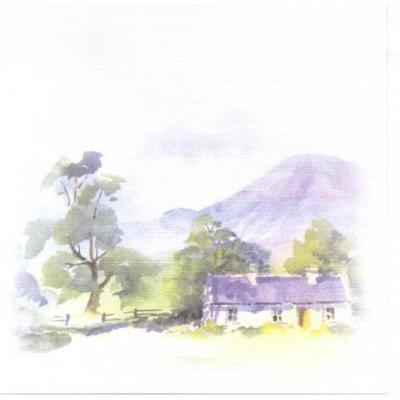 Mountain Cottage Note Pack