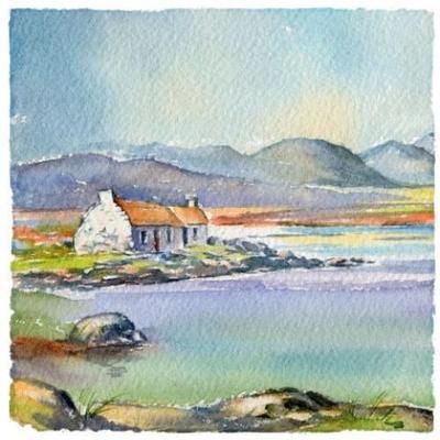 Cottage Notelet