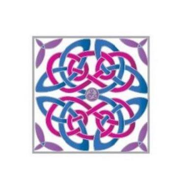 Celtic Square Notelet