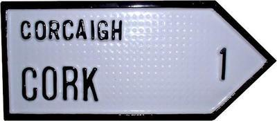 Irish Road Sign - Cork