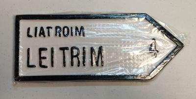 Irish Road Sign - Leitrim