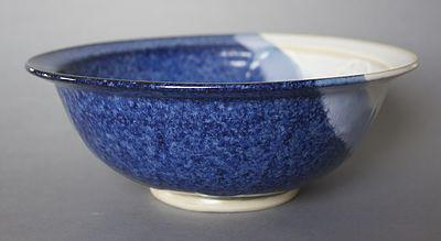 Hampton Blue Salad Bowl