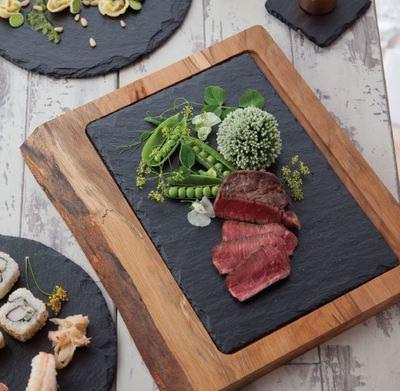 Wood & Slate Platter