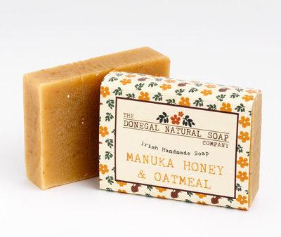 Donegal Soap Bar - Manuka Honey & Oatmeal
