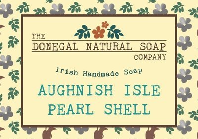 Donegal Soap Bar - Aughnish Isle Pearl Shell