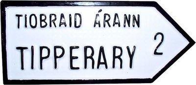 Irish Road Sign - Tipperary