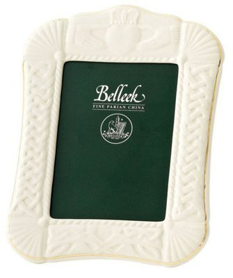 Belleek Claddagh 5x7 Frame