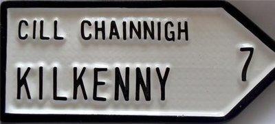 Irish Road Sign - Kilkenny